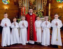 Więcej o: Uroczystość I Komunii Świętej