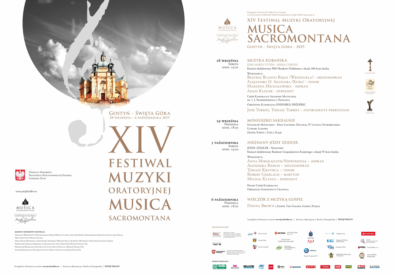 Więcej o Musica Sacromontana – XIV Festiwal Muzyki Oratoryjnej
